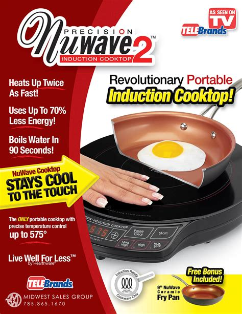 nuwave induction cook top sell sheet