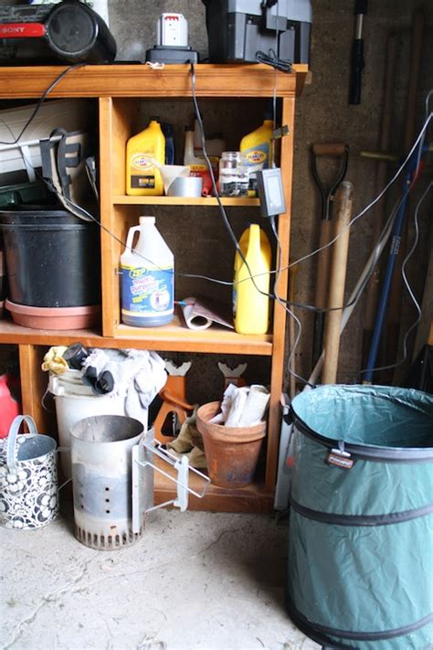 Shed Organization Diy by An Organized Garage Or Shed In Just A Weekend Merrypad