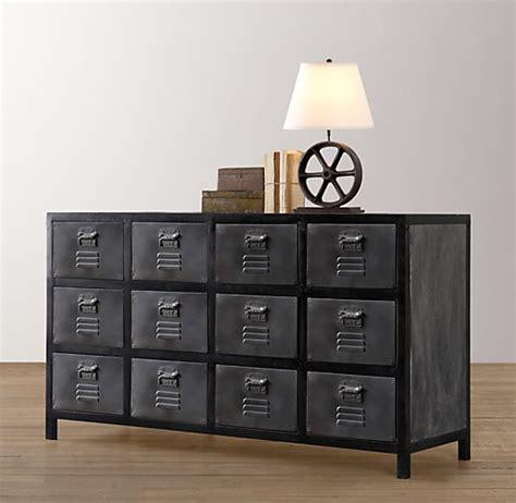 Locker Drawers by Vintage Locker Wide Dresser