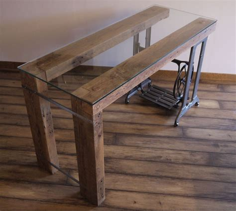Repurposed Wood Desk by Reclaimed Wood Desk By Ticino Design Home By Ticino
