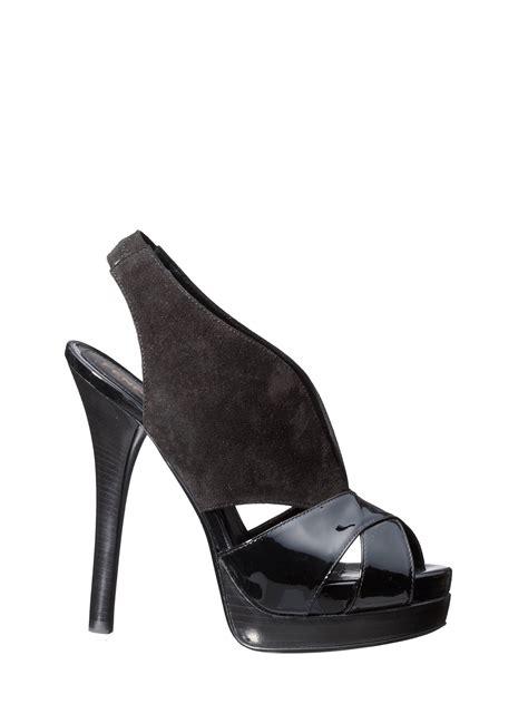 fendi fendi shoes black in black lyst