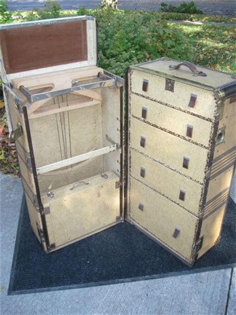 Antique Hartmann Wardrobe Steamer Trunk by Pin By Glenda Dickens On Trunks With Stories Untold