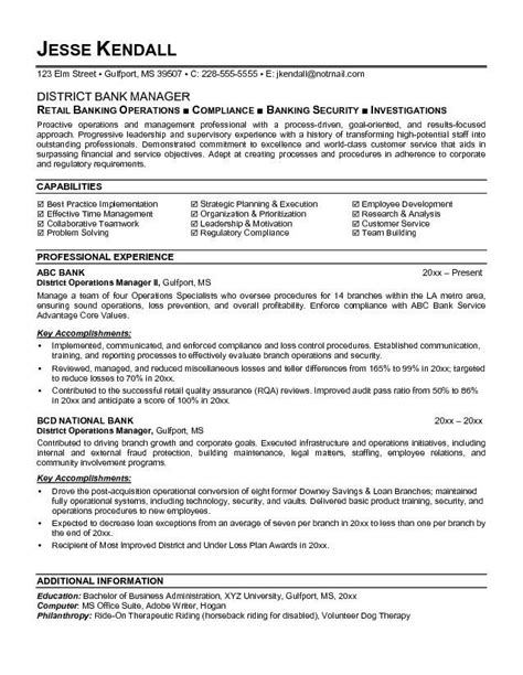 Banker Resume Template by Best 25 Sle Resume Templates Ideas On Free