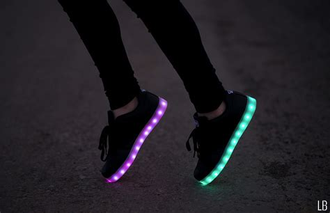 Light Up by Fashionable Led Light Up Shoes Raindrops Of Sapphire