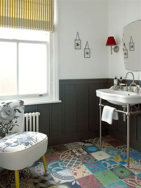 exquisite bathroom designs 25 creative patchwork tile ideas full of color and pattern