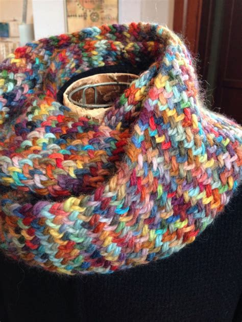 infinity knitting loom loom knit infinity scarf of many colors adventures in