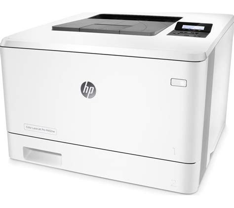 Printer Laserjet Wifi buy hp laserjet pro m452nw wireless laser printer free delivery currys