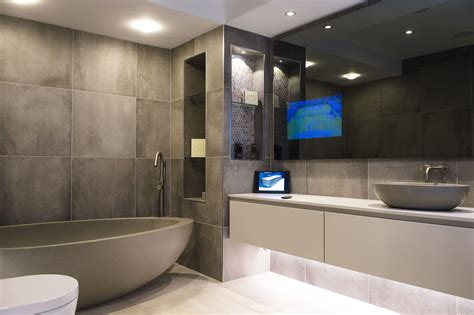 bathroom stores belfast new bespoke vanity tv display at soaks bathrooms belfast