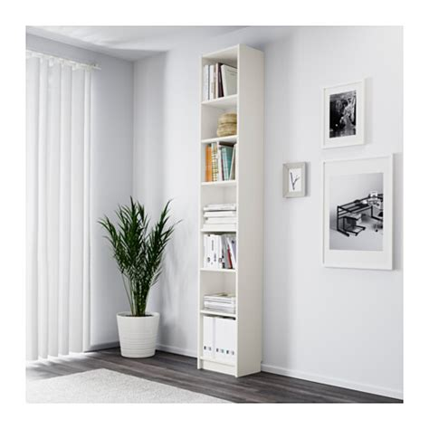 ikea billy bookcases white billy bookcase white 40x237x28 cm ikea