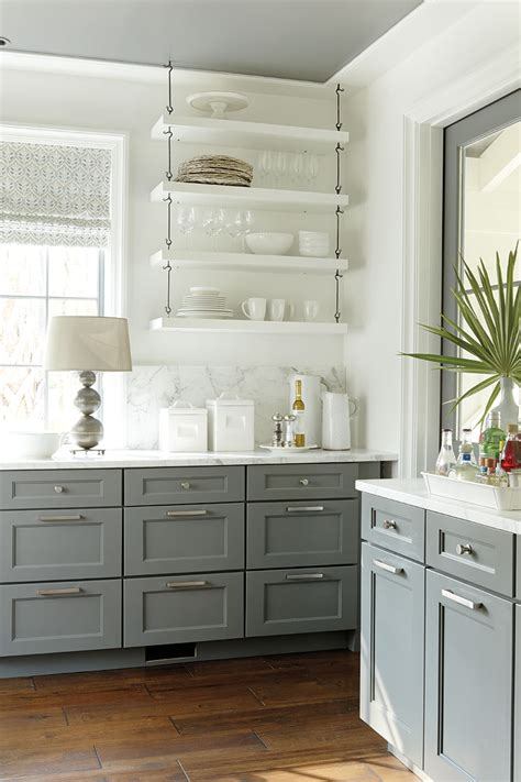 gray and white kitchen cabinets inside look 2014 palmetto bluff idea house with suzanne