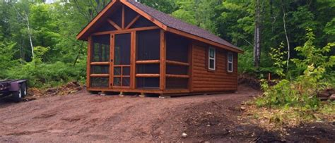 Log Cabins Delivered by Pre Built Cabins For In Michigan 4k Wallpapers