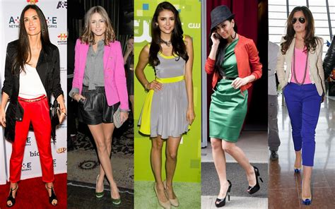 color blocking frills and thrills the colour blocking trend