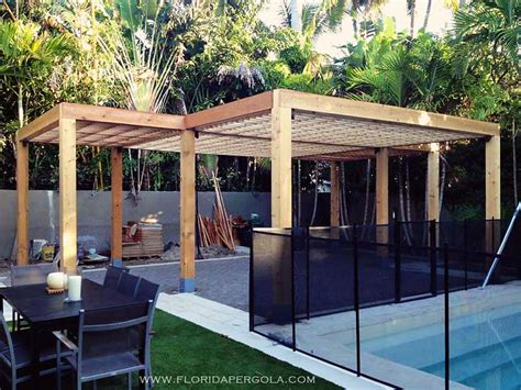 l shaped pergola contemporary pergola in surfaced western cedar