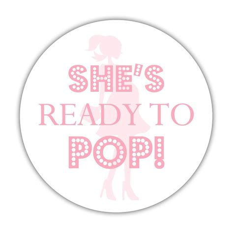 she s ready she s ready to pop stickers dazzling daisies