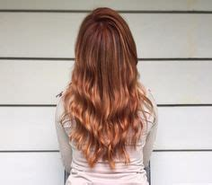 balayage ombre milwaukee wi hair color dark strawberry blonde to light strawberry