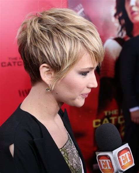 spring hair styles for a round face 49 best images about short professional lesbian haircuts