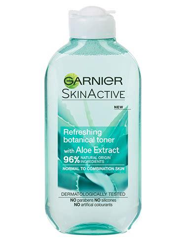 Toner Garnier Active refreshing botanical toner with aloe extract garnier