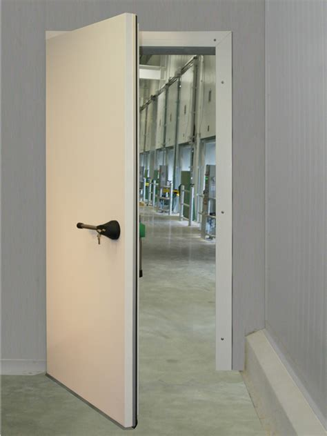 single swing door frank door company the leader in cold storage door