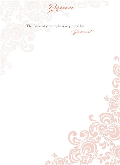 wedding announcement template wblqual com blank wedding card templates wedding invitation ideas