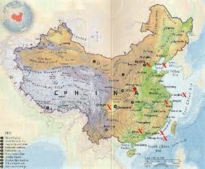 geography map map of china geography area china map cities tourist