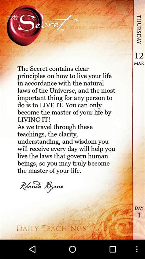 The Secret Quotes Impressive Best 25 The Secret Book ...