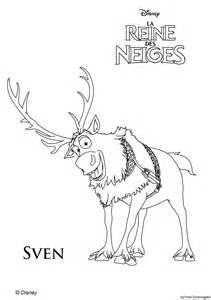 frozen coloring pages baby reindeer coloring pages