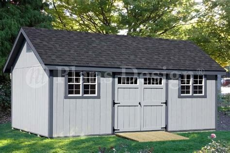 storage shed plans    gable roof style dg