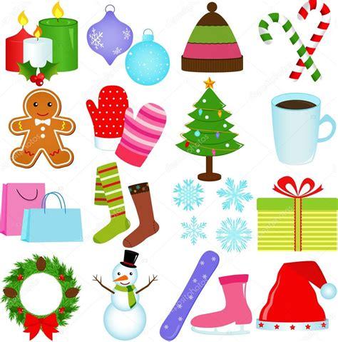 christmas themed drawing icons winter christmas theme stock vector 169 sasimoto