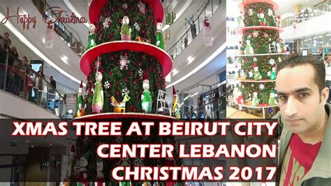 beirut city centre youtube xmas tree beirut city center lebanon christmas tree 2017