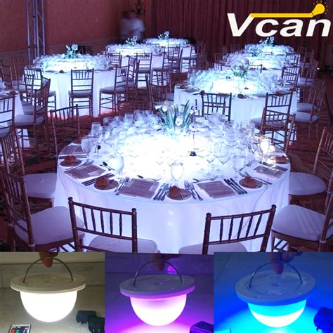 led table lights for weddings dhl portable wireless battery operated table led
