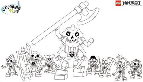 ninjago samukai coloring pages lego ninjago skulkin coloring pages team colors