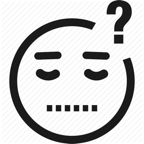 clipart faccine avatar confused emoticon emotion smiley icon icon