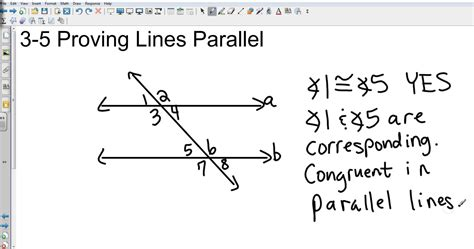 Proving Lines Parallel Worksheet Answers by Geometry 3 5 Proving Lines Parallel