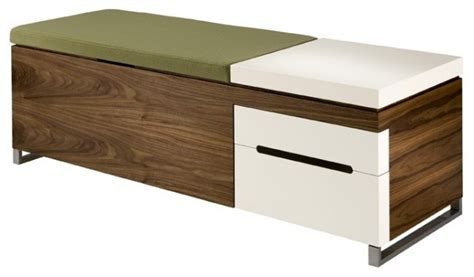 contemporary storage bench herman miller cognita bench modern accent and storage benches minneapolis by