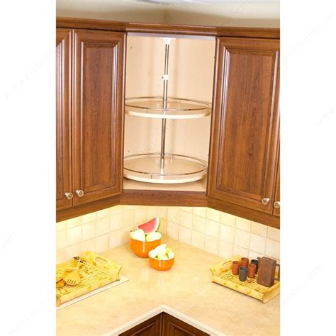 beautiful lazy susans for kitchen cabinets 15 upper round upper corner unit system richelieu hardware