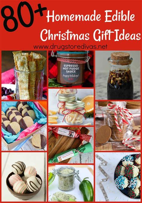 80 homemade edible christmas gift ideas drugstore divas
