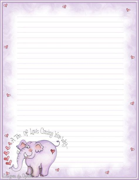 printable lined valentines paper 114 best printable lined writing paper images on pinterest