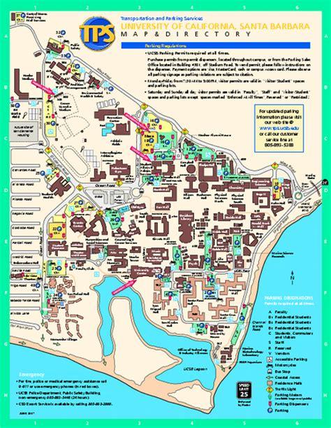 california map near santa barbara tourist map of santa barbara city on usa images images