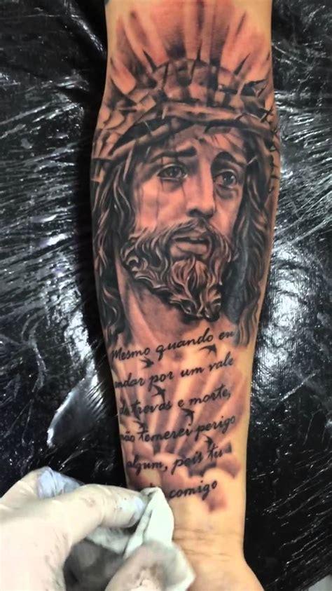 tattoo de jesus cristo em 3d tattoo jesus cristo trabalho feito em 1 sess 227 o youtube