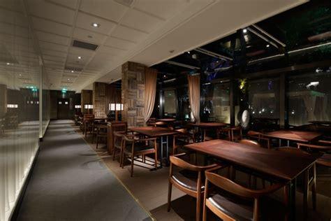 Sushi Interior Design by Retail Design Tsukiji Aozora Sandaime Grill Sushi