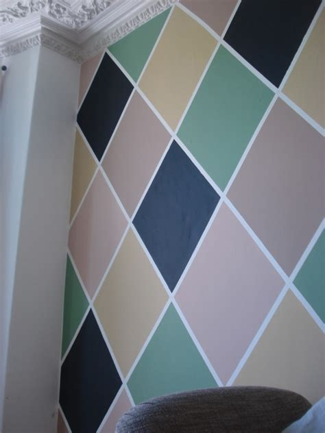 harlequin pattern on wall paint harlequin pattern on a large large canvas for wall