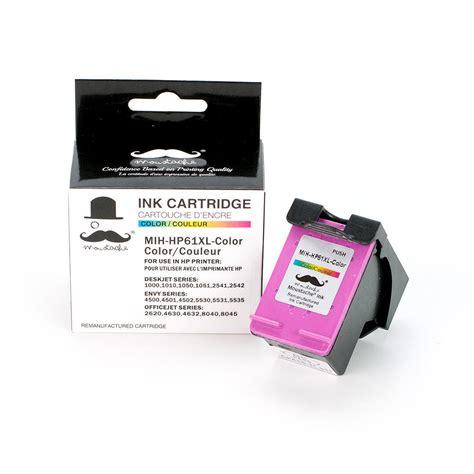 hp 61 tri color ink cartridge hp 61xl ch564wn remanufactured tri color ink cartridge