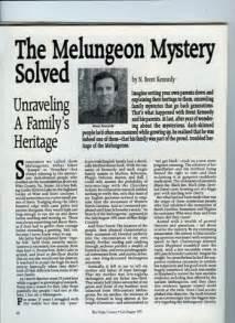 melungeon mystery solved blueridgecountry com