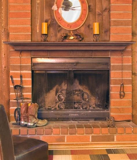Antique Fireplace Mantel Shelf by Pearl Mantels 418 Homestead Antique Finish Mantel Shelf