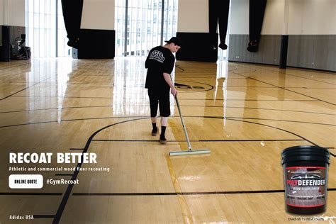 COURTSPORTS Services   Hardwood Court Floor Recoating