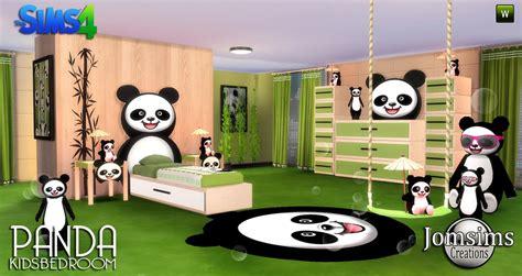 panda bedroom bedroom child sims 4 panda kids sims 4 updates sims