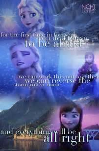First time in forever reprise anna and elsa disney frozen fan art