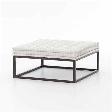 Fabric Ottoman Coffee Table Best 25 Fabric Ottoman Ideas On Padded Coffee Table Coffee Table To Ottoman Diy