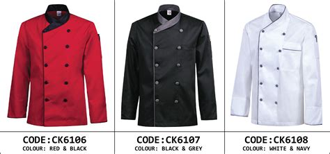 Baju Chef S By Jj chef