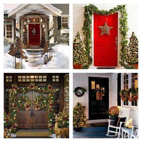 Decoration Porte Noel 50 id 233 es de d 233 coration de porte d entr 233 e de no 235 l